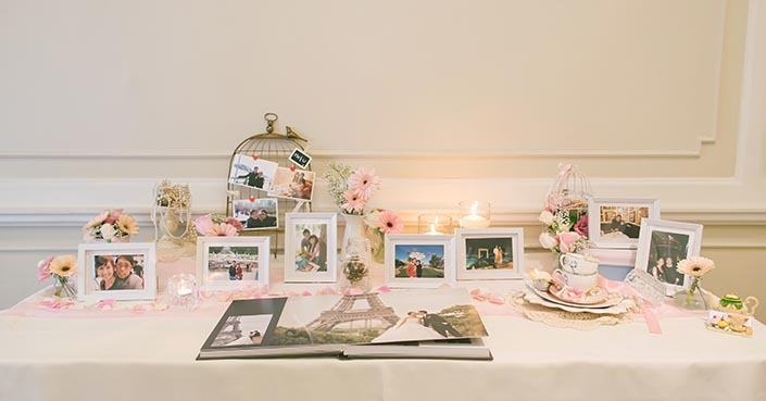 Vintage Sweet Elegance Wedding Day Photography at Goodwood Park Hotel