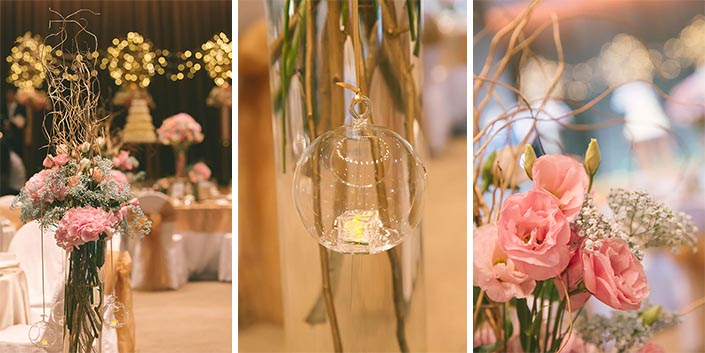 Garden-themed Wedding Day Photography at Capella Hotel