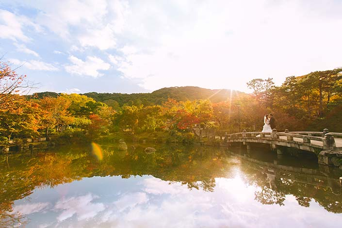 Overseas Pre-Wedding Photography Session in Kyoto (Kevin & Ivy)