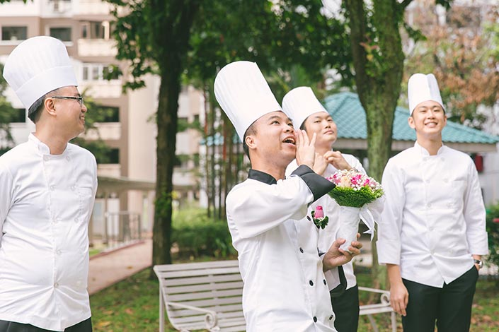 Food-Themed Wedding Day Photography