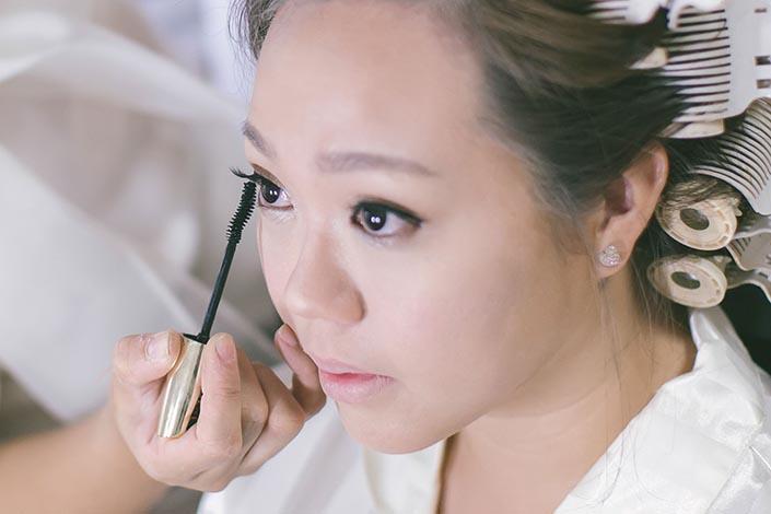 Ah Gong & Ah Ma-themed Wedding Day Photography