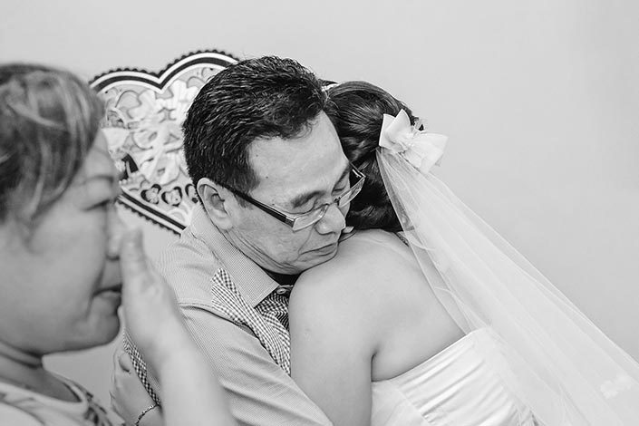 Ah Gong & Ah Ma-themed Wedding Day Photography