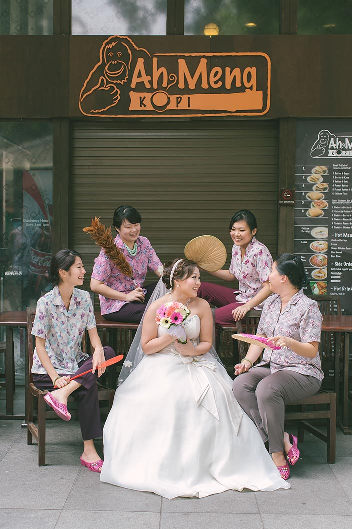 Wedding Day Photography at Singapore Zoo