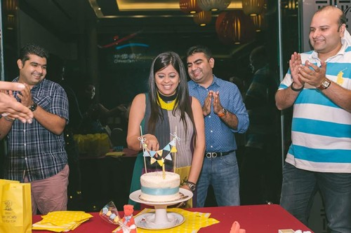 Baby Shower Party Photography at Chinese Swimming Club (Manish & Divya)