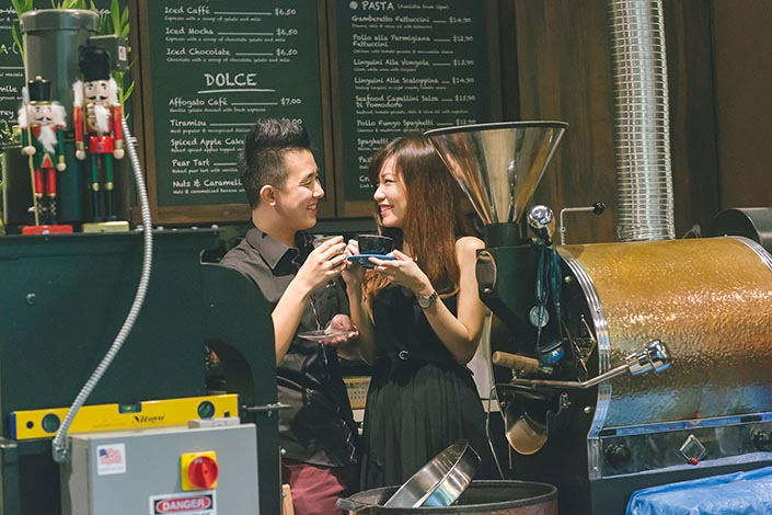 Casual Couple Love Story Photography at La Ristrettos