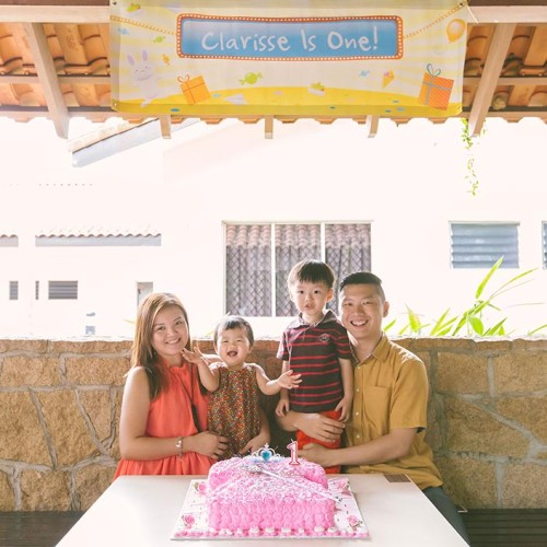 1-Year Old Birthday Party Photography at Aloha Loyang Garden Terrace (Clarisse)