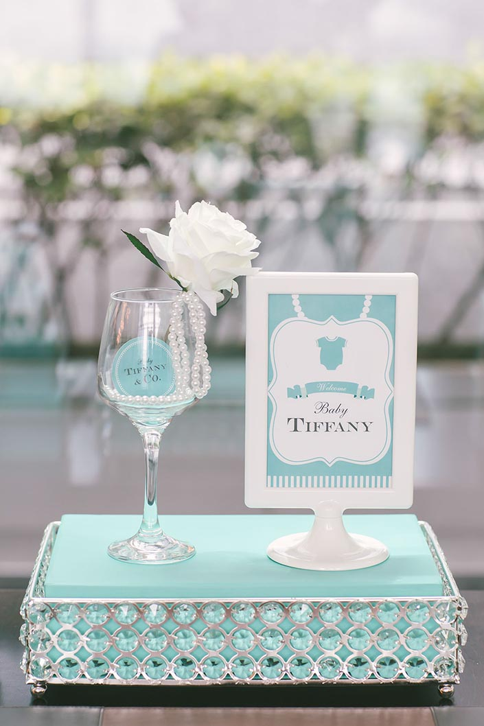 Tiffany blue-themed Baby Shower Party Photography at ...