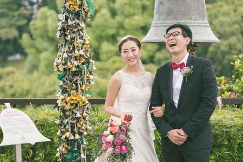 Wedding Day Photography at Faber Peak, Mount Faber (CK & Mei)