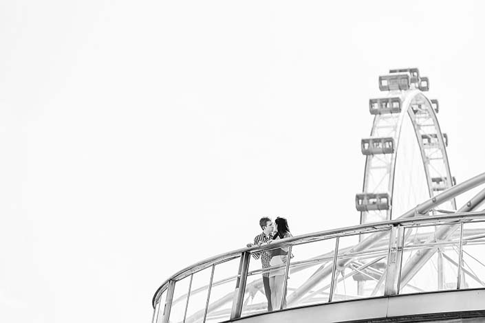 Engagement / Pre-wedding photography at Marina Bay