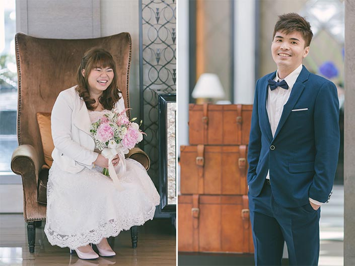 Wedding Day Photography at Fullerton Bay Hotel (The Gown Warehouse, The Bloom Room)