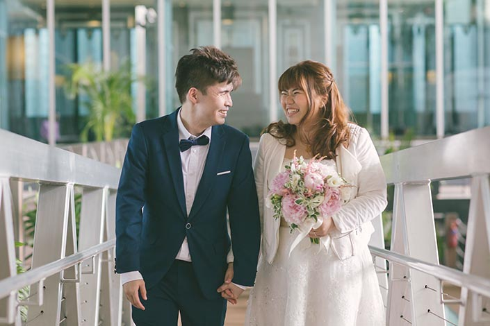 Wedding Day Photography at Fullerton Bay Hotel (Moment Design)