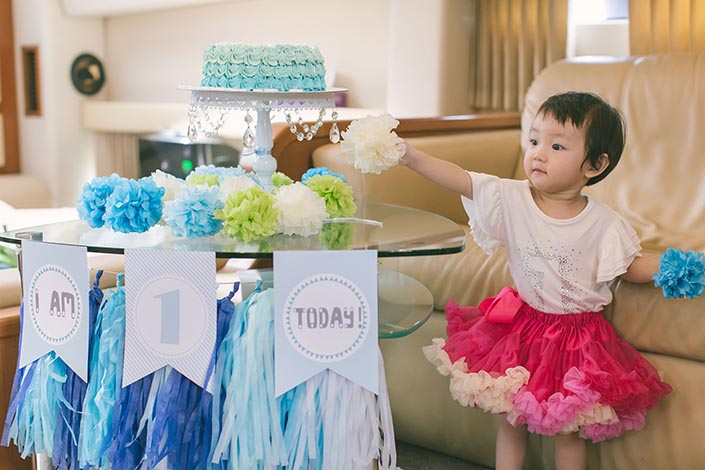 1-year old Birthday Party Photography on a Yacht