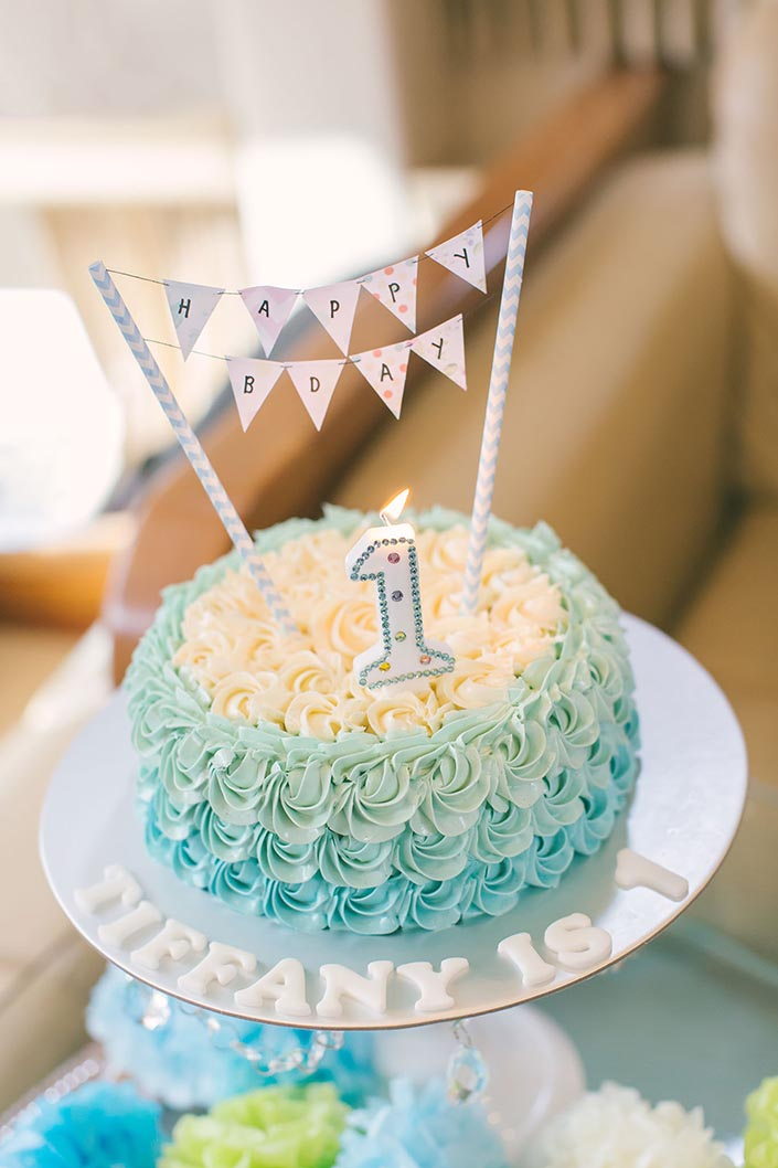 1-year old Birthday Party Photography (Cake from My Sister Bakes)