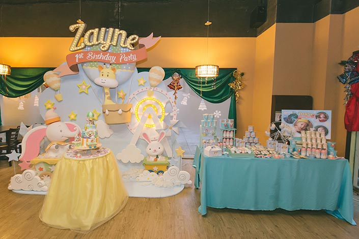 3D Backdrop Dessert Table Styling By ABite