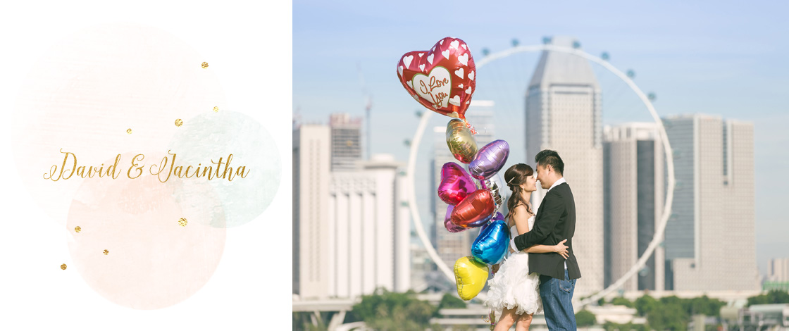 Pre-Wedding Photography at Marina Barrage