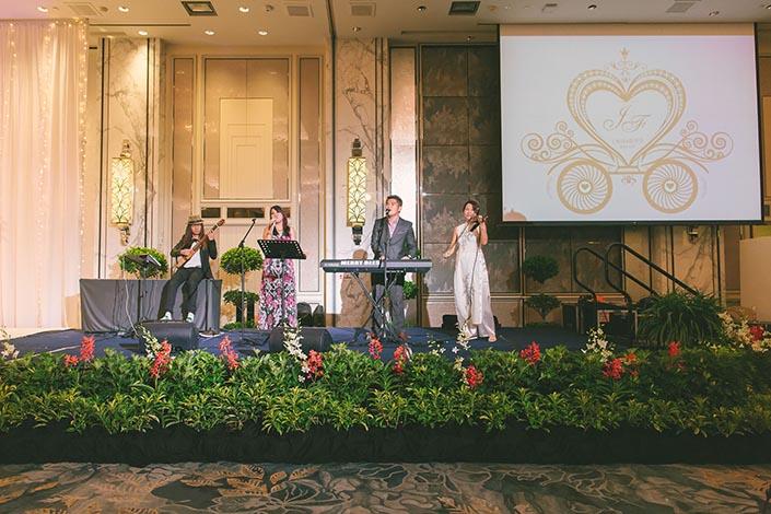 Fairytale Elegant Wedding Day Photography at Shangri La Hotel (Band: ShiLi & Adi)