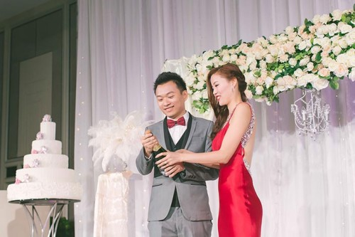 Fairytale Elegant Wedding Day Photography at Shangri-La Hotel (Jack & Xuefang)