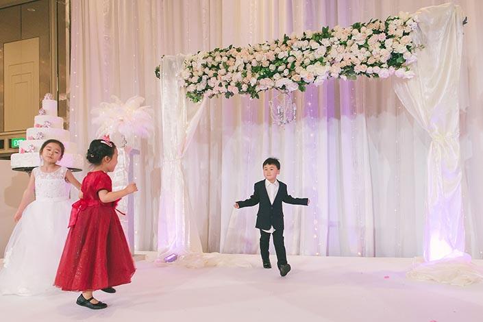 Fairytale Elegant Wedding Day Photography at Shangri La Hotel