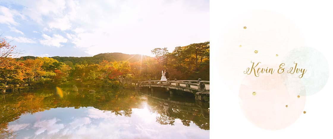 Overseas Pre-Wedding Photography Session in Kyoto