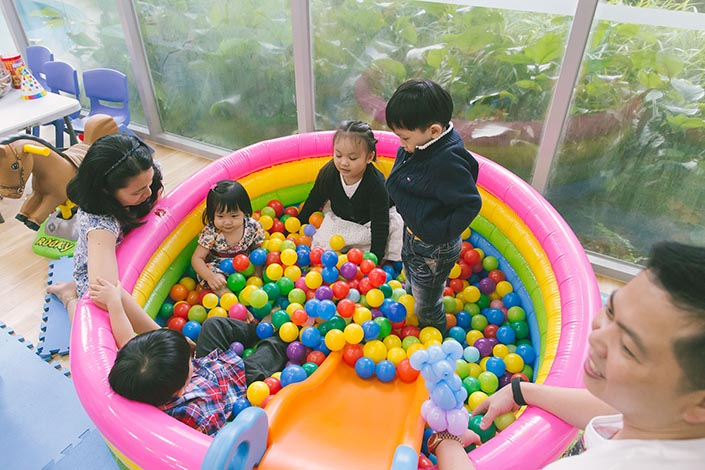 Ball pit from Singapore Toy Rental