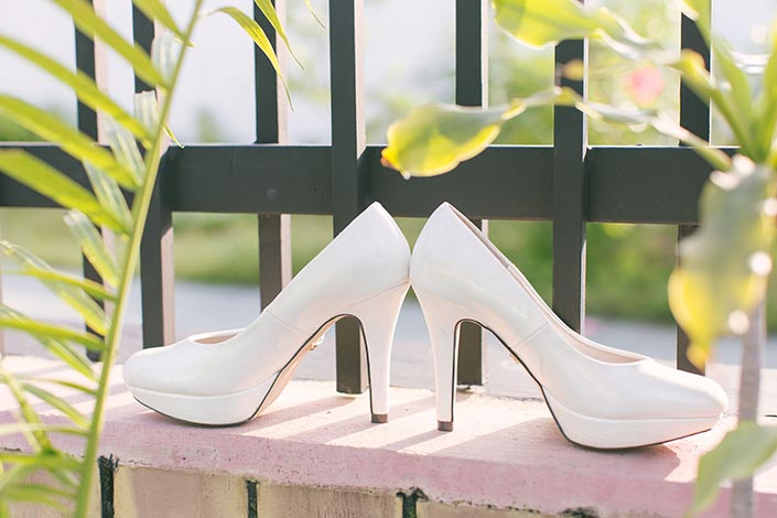 Wedding Day Photography wedding shoe