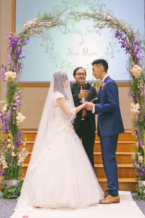 Wedding Day Photography at Calvary Baptist Church (Liang Song & Hui Min)