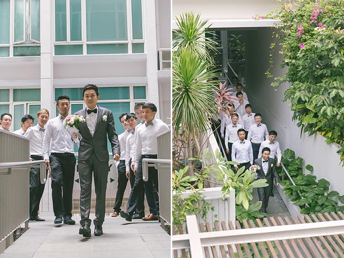 Wedding Day Photography at Mount Faber (Gatecrashing)