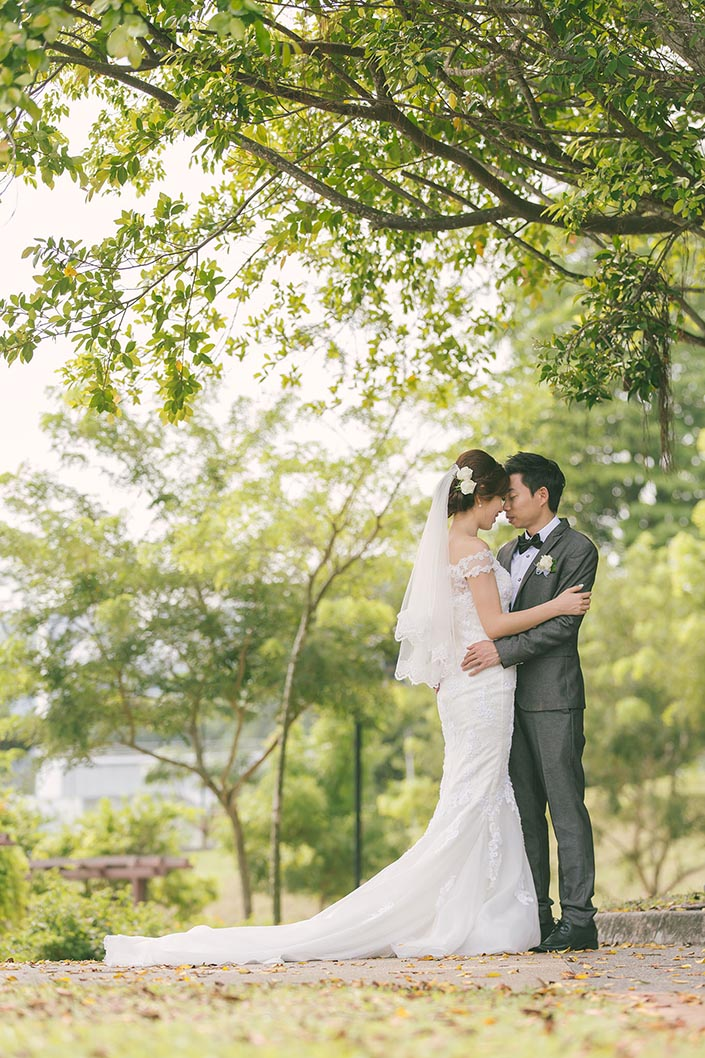 Wedding Day Photography at MacRitchie Reservoir Park
