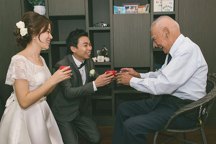 Wedding Day Photography (Tea Ceremony)