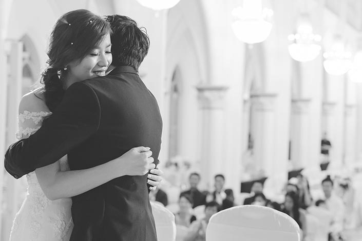 Wedding Day Photography at Chijmes (Solemnization)
