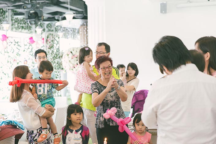1-year old Birthday Party Photography at Blisshouse Singapore