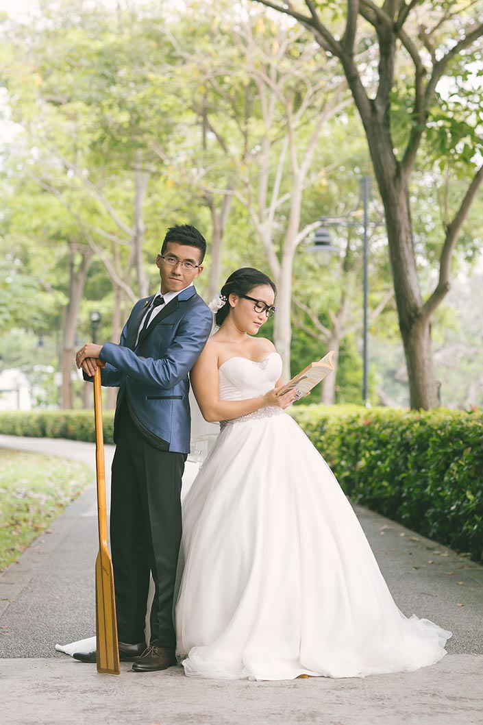 Wedding Day Photography at Marina Bay Sands