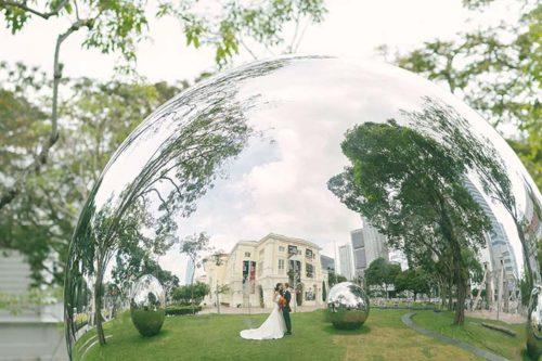 Wedding Photography Singapore at The Fullerton Hotel (Philipp & Lavon)