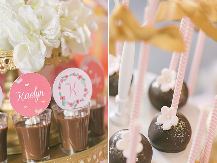 Birthday Party Dessert Table Styling by Deux Dames & Co.