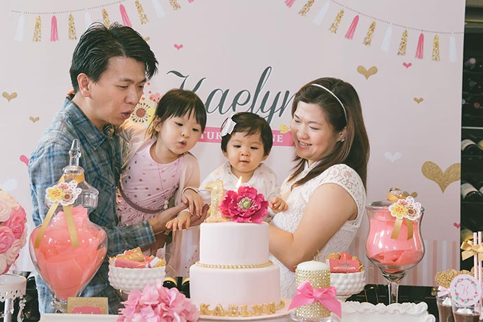 1-year old Birthday Party Photography at Flutes (National Museum)