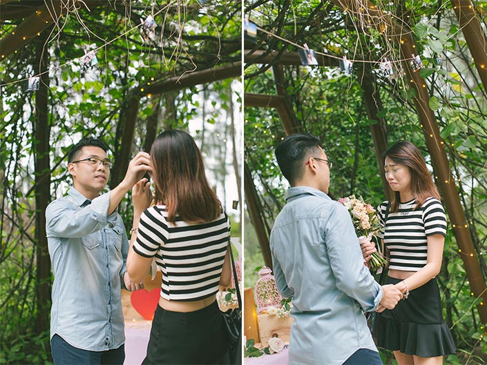 Singapore Wedding Proposal Photography at Coney Island