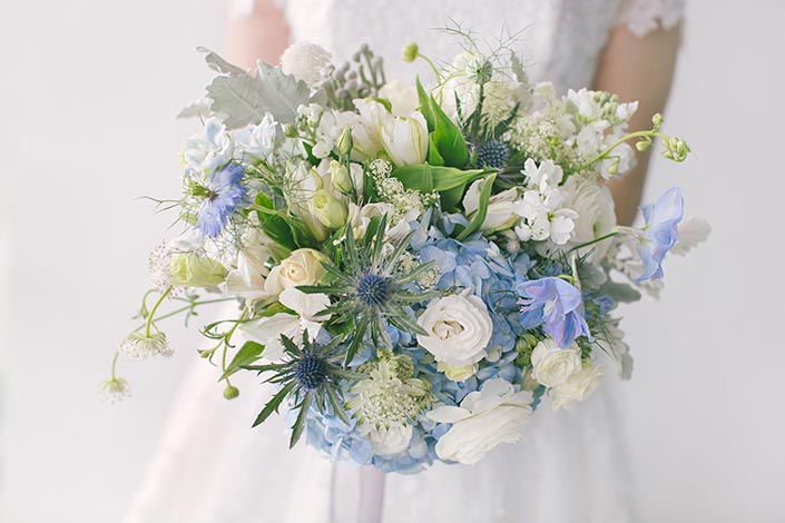 Bridal Bouquet from Heaven in a Wild Flower