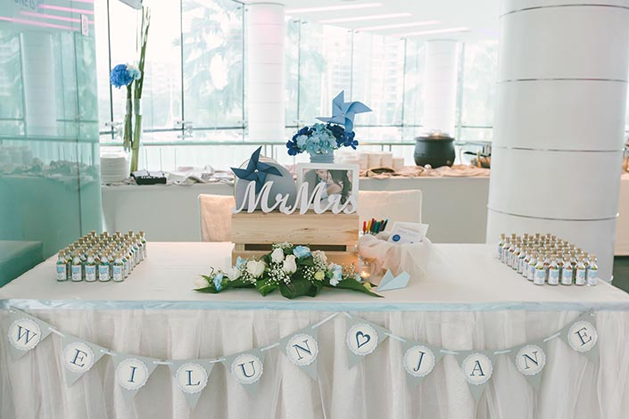 Wedding styling by Stirring Hearts