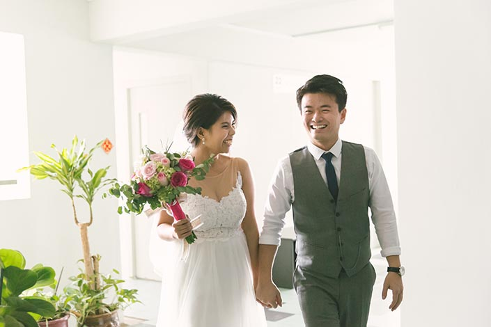 Singapore Wedding Photography at D'Leedon Condominium