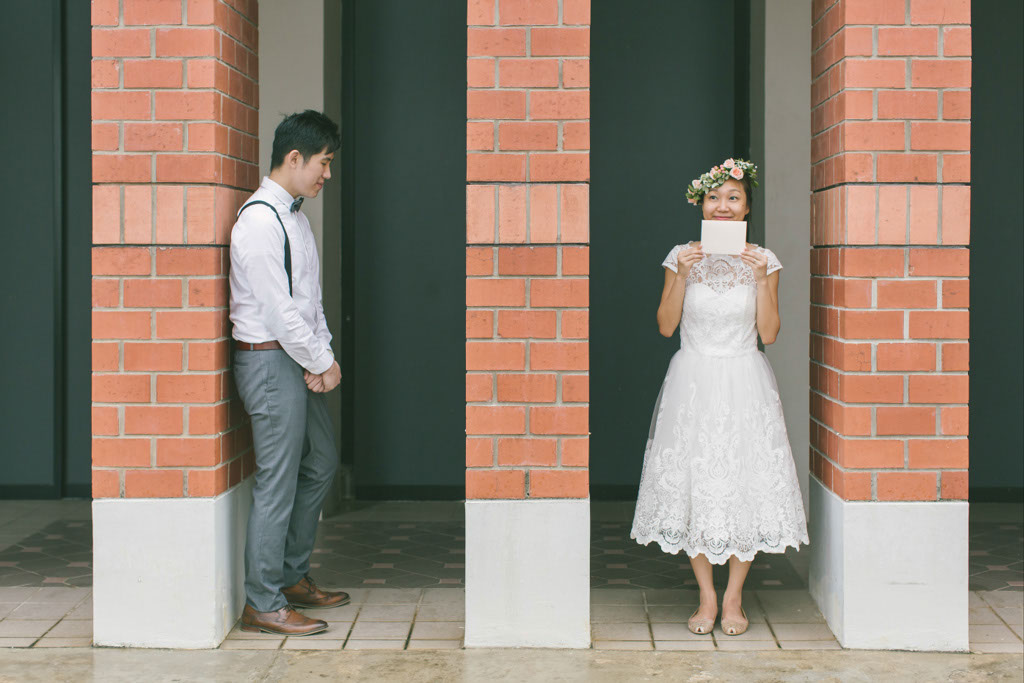 Singapore Pre-Wedding Photography at Tiong Bahru