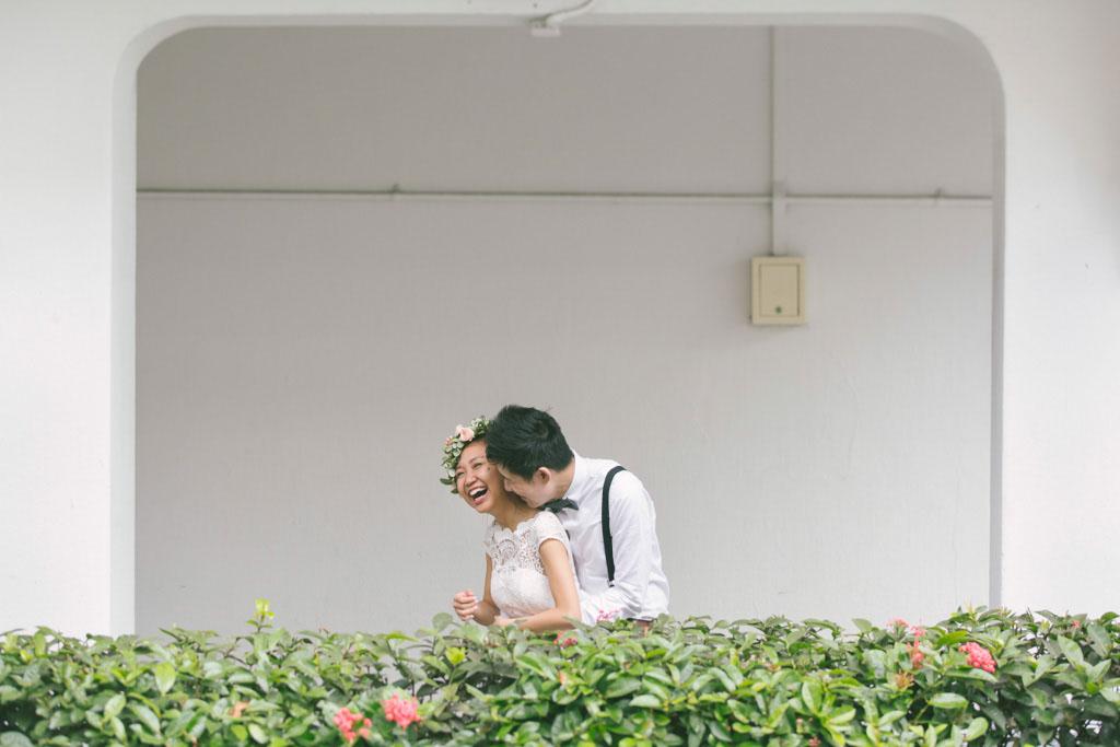 Singapore Pre-Wedding Photography at Tiong Bahru