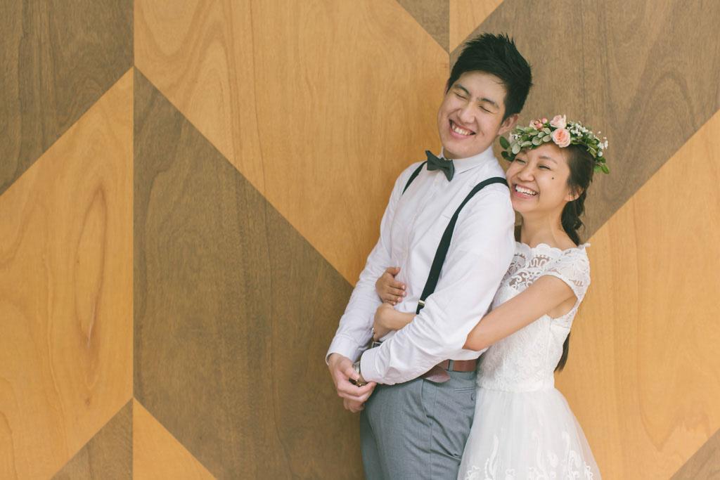 Singapore Pre-Wedding Photography at Yoga Movement