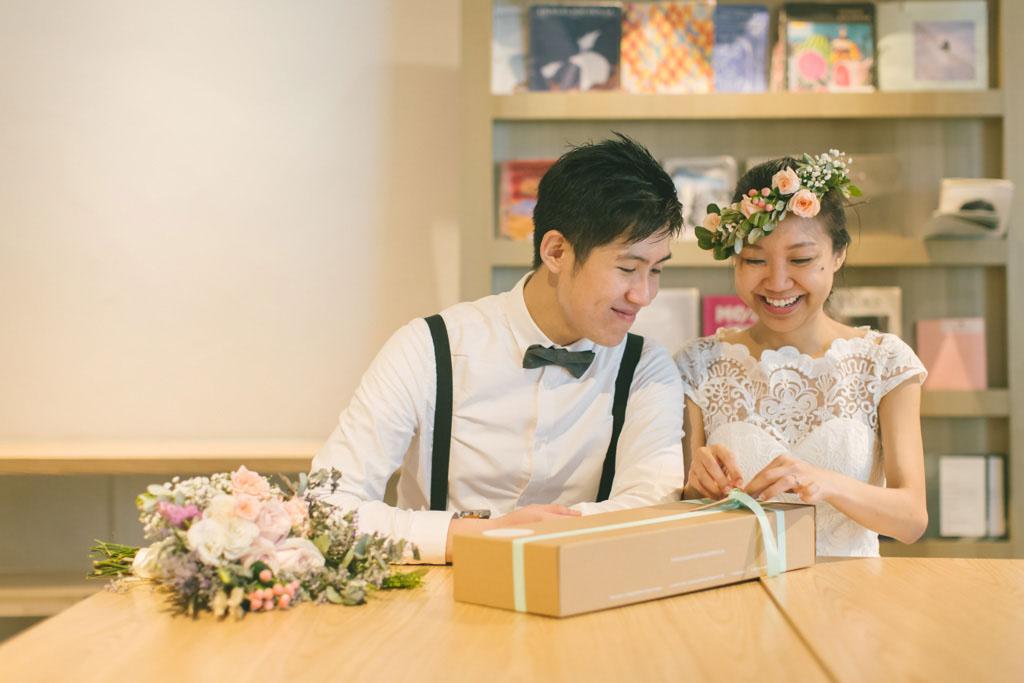 Singapore Pre-Wedding Photography at Plain Vanilla