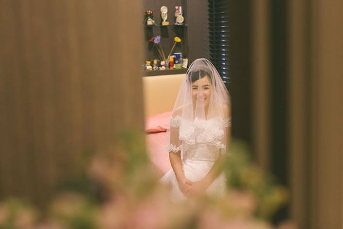 Singapore Wedding Day Photography - First Look