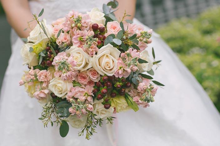 Singapore Wedding Day Photography - Mirage Flowers