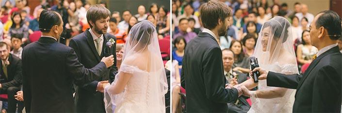 Singapore Wedding Day Photography - Solemnisation at Calvary Baptist Church