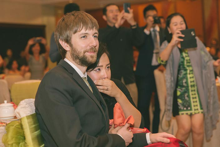 Singapore Wedding Day Photography - Dance at Marina Mandarin ballroom