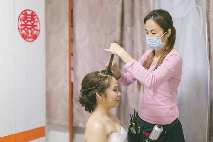 Singapore Wedding Photography Hair & Makeup