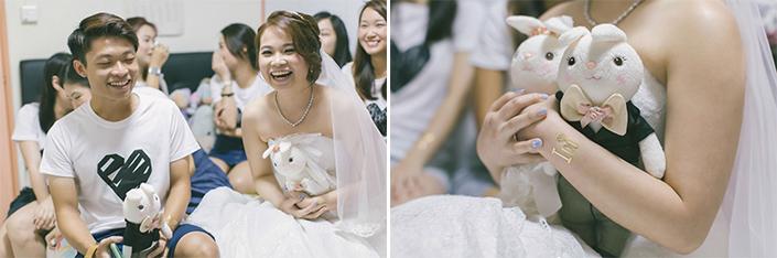 Singapore Wedding Photography Bride & Bridesmaids
