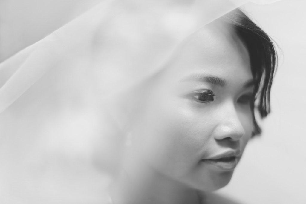 Singapore Wedding Photography Bride Portrait